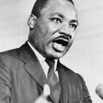 Martin Luther King, Jr. preaching MLK