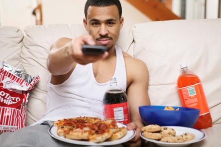 lazy boyfriend man tv