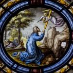 Jesus Christ praying Garden of Gethsemane