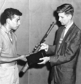 Young David Wilkerson and Nicky Cruz