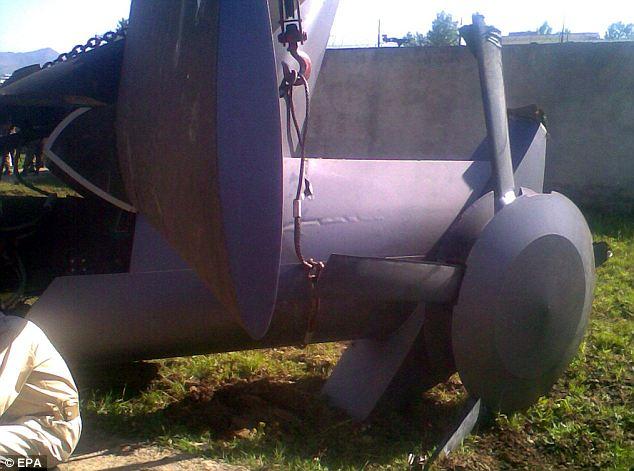Osama Bin Laden Raid crash chopper